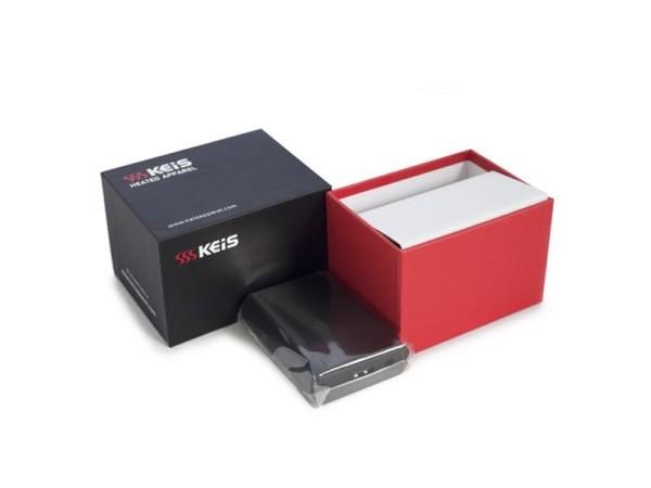 Keis Lithium Akku 2600 AMH + Ladegerät + Verpackung